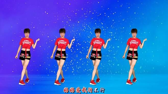 舞动朝阳广场舞灵灵-很喜欢这首歌,看看这个飞起来的舞步!