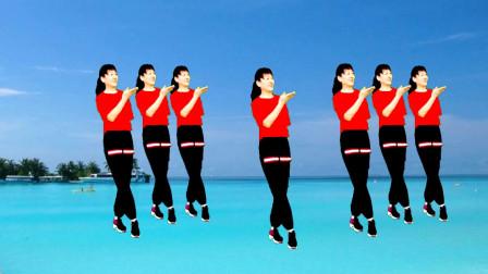 高安迷采广场舞千万个对不起-歌曲好听,歌词甜美,舞蹈简单好看