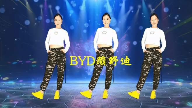 十里清清广场舞BYD蹦野迪-帅气舞步跳起来,你是最靓的仔