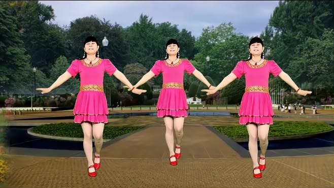 鸽子广场舞幸福的爱你一辈子-歌曲温馨甜蜜,舞蹈优美好看易学