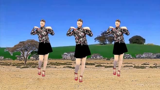 济阳红霞广场舞偷偷爱着你-动感节奏新颖时尚