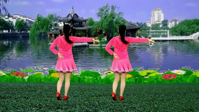 鸽子广场舞红尘情花开-旋律优美,舞蹈好看好学