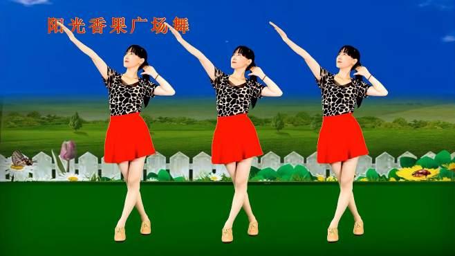 阳光香果广场舞谁能陪我到最后-谁能携手共白头,越听越好听