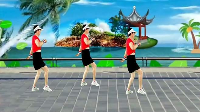 彩虹健身广场舞下辈子不一定还能遇见你-人生就是减法,且行且珍惜