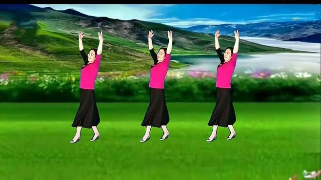 春晖广场舞父亲的草原母亲的河-感恩父母 祝你们安康!