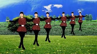 鸽子广场舞说老就老-音乐动听欢快,舞蹈好看易学