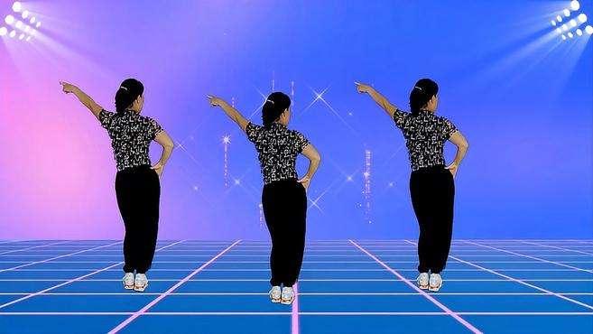 郴州冬菊广场舞到了这个年纪-非常解压走心的新歌背面演示附分解