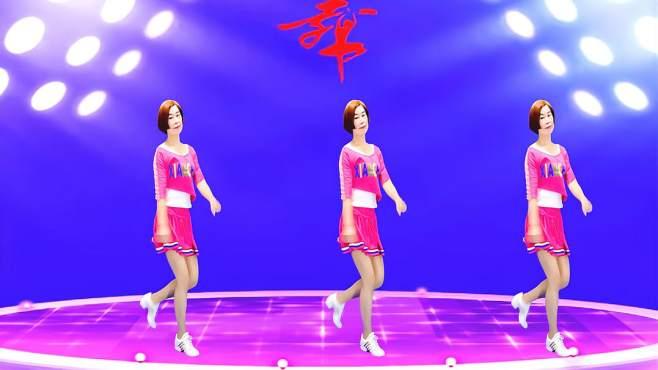 广州红色枫叶广场舞兄弟跟我走-音乐好听舞蹈好看