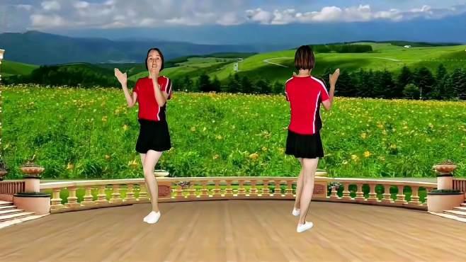山东秋香广场舞歌名歌-一生爱你千百回歌醉舞美