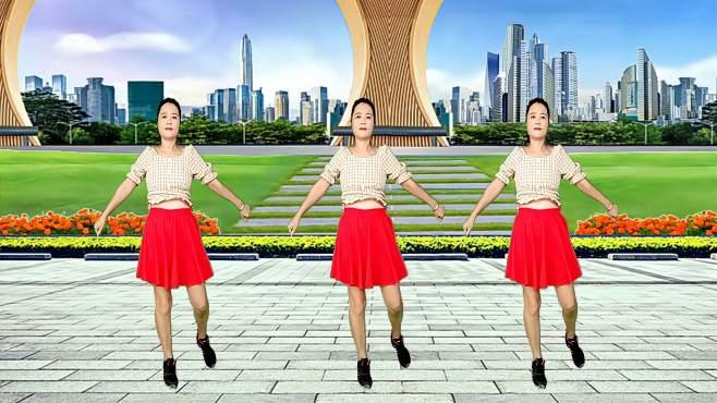 玫瑰怡林广场舞泪蛋蛋都为情哥哥流-欢快舞步,好听好看