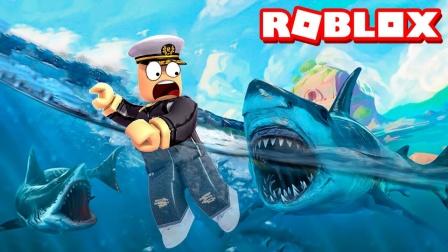 Roblox咬人鲨模拟器:变身饥饿鲨进化-《小格解说 Roblox》