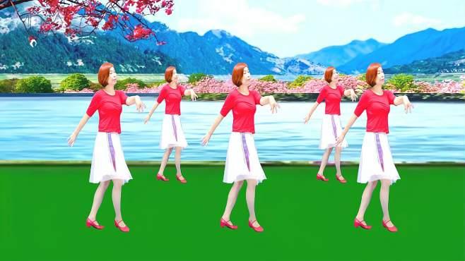 广州红色枫叶广场舞红枣树-经典流行广场舞音乐好听舞蹈好看