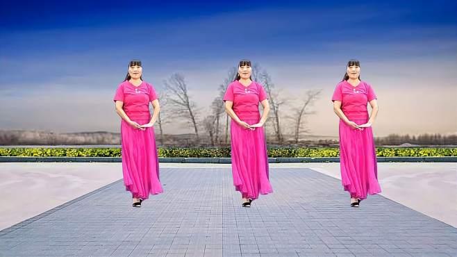 济阳红霞广场舞幸福你我手牵手-醉歌美舞柔情好看