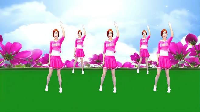 广州红色枫叶广场舞美酒加咖啡-音乐好听舞蹈好看