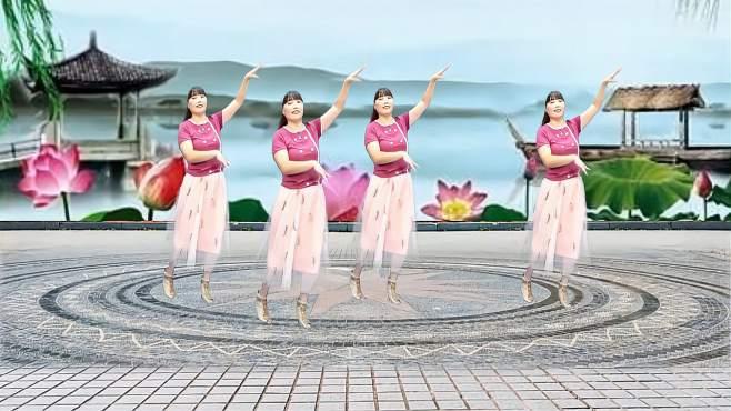 济阳红霞广场舞又到了秋天-唯美动听新颖好看