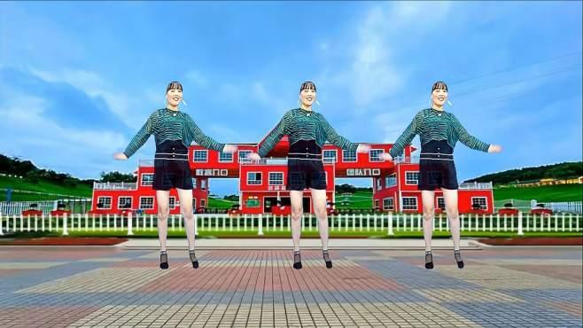 济阳红霞广场舞草原海-舞步独特新颖,简单易学更好看