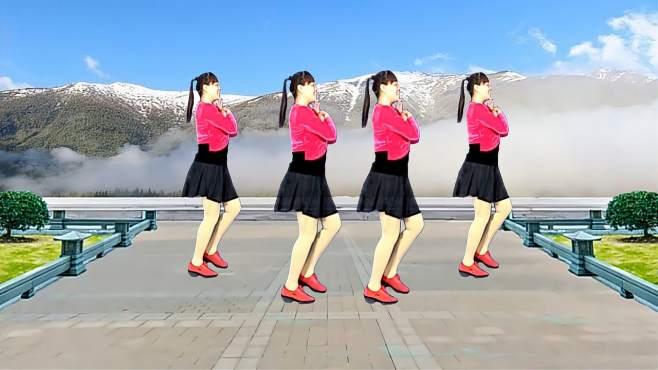 济阳红霞广场舞想着你的好-醉歌美舞新颖好看