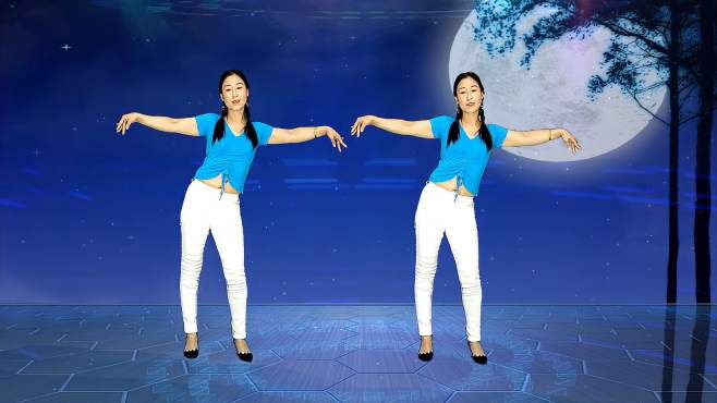 十里清清广场舞走不完的路-人生就像趟不完的河,无论多少曲折都要过