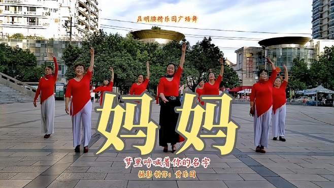 昆明腰精乐园广场舞妈妈-优雅简洁,大家觉得怎么样?