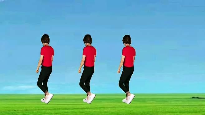 山东秋香广场舞逍遥走-好听好看的32步,背面演示更易学