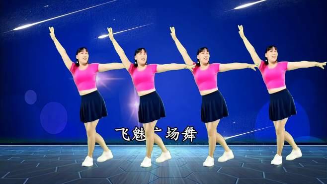 飞魅广场舞雪山阿佳-天籁之音简单零基础步子