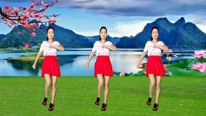 玫瑰怡林广场舞只要你还需要我-动感舞步,欢快好看