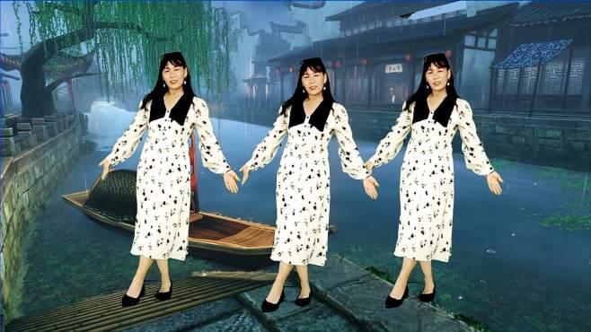 飞魅广场舞水墨徽州-抒情优美32步慢节奏