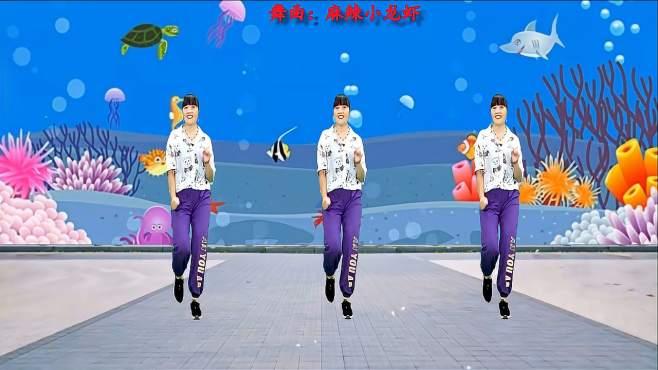 济阳红霞广场舞麻辣小龙虾-节奏时尚新颖简单好看