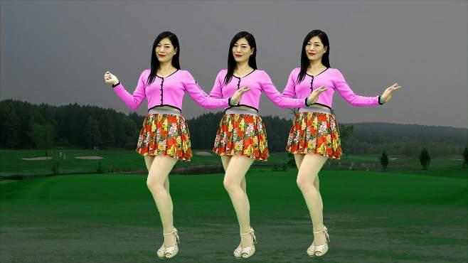 孝昌开心美美哒广场舞想你的时候把歌唱-思念情歌轻盈舞步