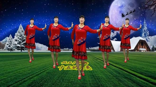 追梦玉儿代玉广场舞十五的月亮-经典纯铃声,这个音乐感动的了多少人