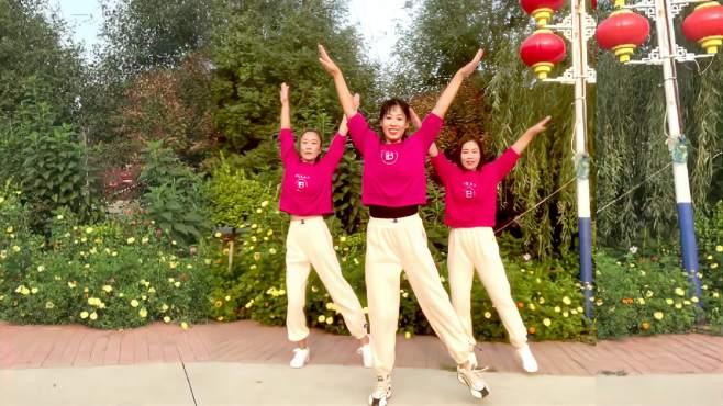 阿采广场舞全民减脂健身操-简单动作减压减脂