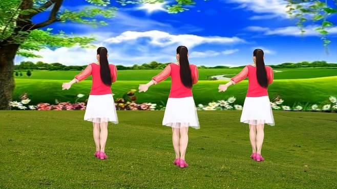 玫香广场舞小曲好唱口难开-经典老歌就是好听,16步广场舞