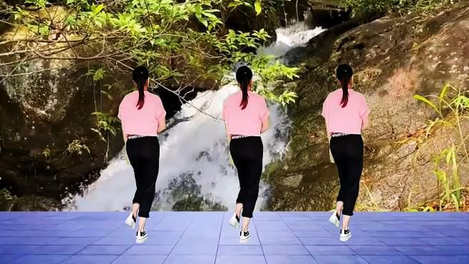 阳光香香广场舞踩点舞-纯音乐超清爽,32步简单易学
