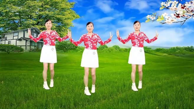 玫香广场舞爱是一缕寂寞的愁-正面附教学