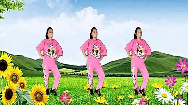 玫瑰怡林广场舞女人漂亮不是罪-零基础32步,时尚好看