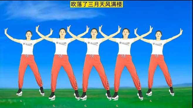 妃子红广场舞爱何求-最近很火爆的一支舞你学会了吗?免费教