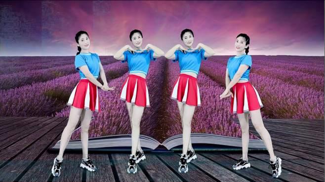 当下小红人广场舞妹妹你跟我走-动感欢快节奏,时尚好看舞步!