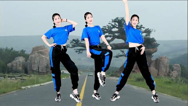 当下小红人广场舞放不下的人是你-节奏欢快动感,舞步优美时尚!