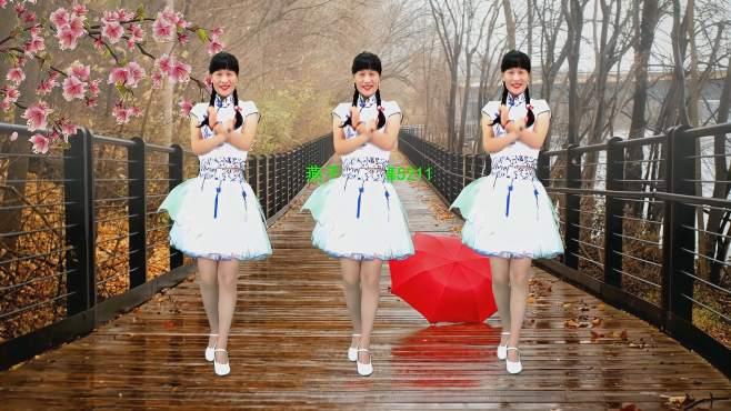 5211燕子广场舞杏花落-甜蜜的情歌送给您歌声响起