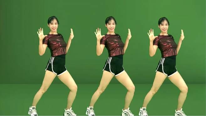 阿采广场舞不爱就散一别两宽-瘦腿瘦手臂